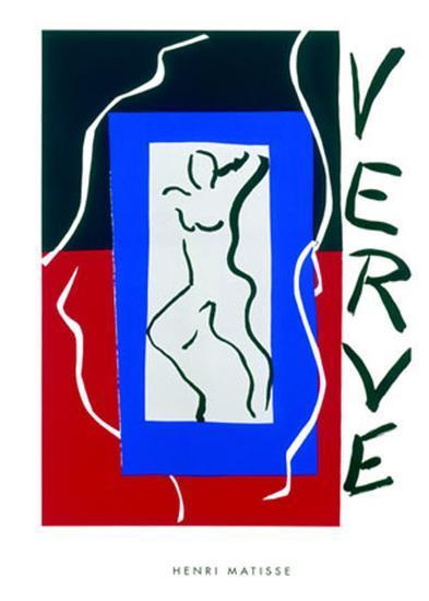 Verve, c.1937-Henri Matisse-Serigraph