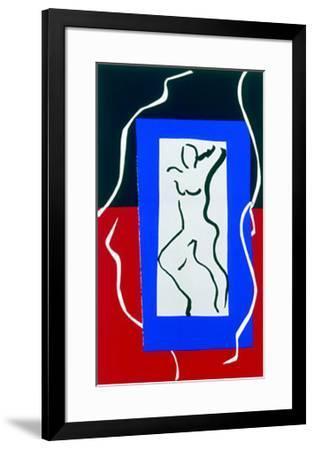 Verve, c.1937-Henri Matisse-Framed Serigraph