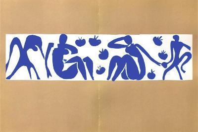 Verve - Femmes Et Singes-Henri Matisse-Premium Edition