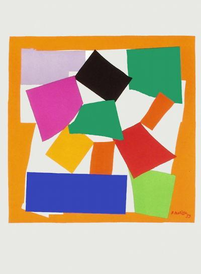 Verve - L'escargot-Henri Matisse-Premium Edition