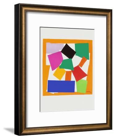 Verve - L'escargot-Henri Matisse-Framed Premium Edition