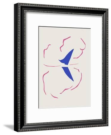 Verve - Le Bâteau-Henri Matisse-Framed Premium Edition