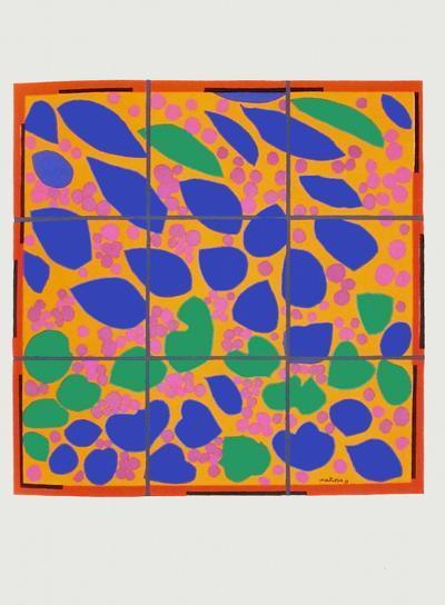 Verve - Lierre en fleur-Henri Matisse-Premium Edition