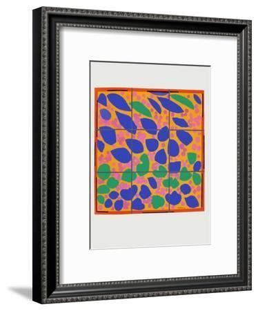 Verve - Lierre en fleur-Henri Matisse-Framed Premium Edition
