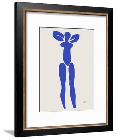 Verve - Nu bleu I-Henri Matisse-Framed Premium Edition
