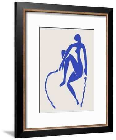 Verve - Nu bleu II-Henri Matisse-Framed Premium Edition
