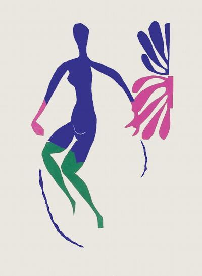 Verve - Nu bleu III-Henri Matisse-Premium Edition