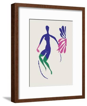 Verve - Nu bleu III-Henri Matisse-Framed Premium Edition