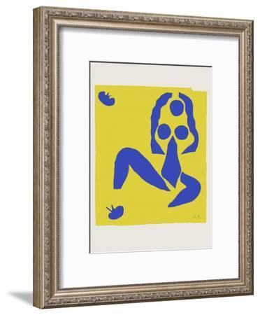 Verve - Nu bleu IV-Henri Matisse-Framed Premium Edition
