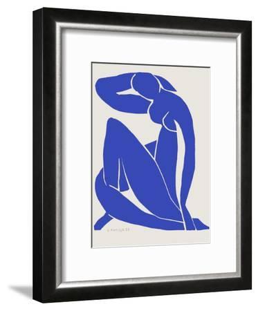 Verve - Nu bleu IX-Henri Matisse-Framed Premium Edition