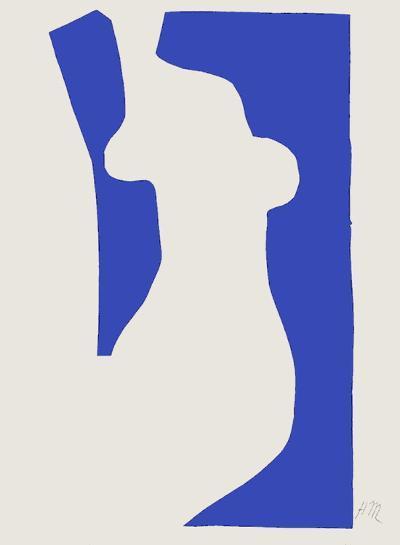 Verve - Nu bleu V-Henri Matisse-Premium Edition