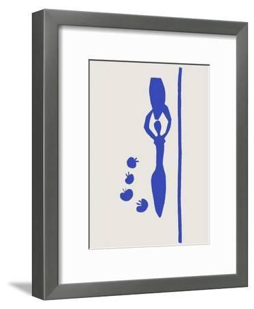 Verve - Nu bleu VI-Henri Matisse-Framed Premium Edition