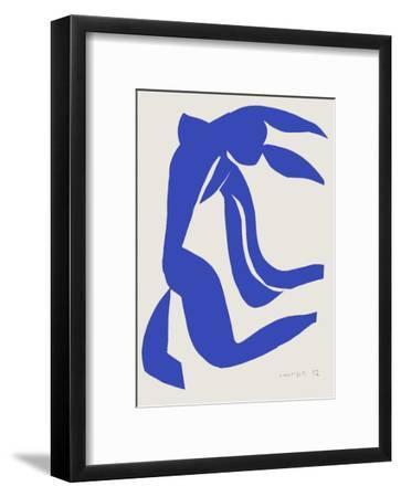 Verve - Nu bleu VII-Henri Matisse-Framed Premium Edition