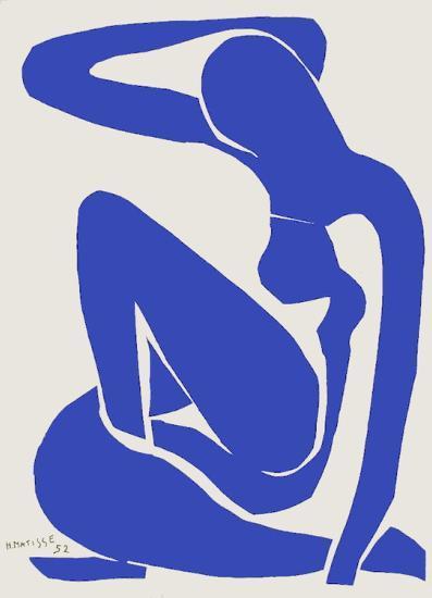 Verve - Nu bleu VIII-Henri Matisse-Premium Edition
