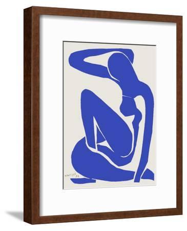 Verve - Nu bleu VIII-Henri Matisse-Framed Premium Edition