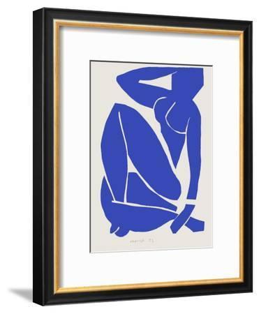 Verve - Nu bleu X-Henri Matisse-Framed Premium Edition