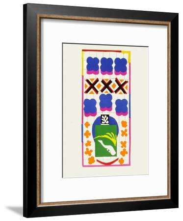 Verve - Poissons chinois-Henri Matisse-Framed Premium Edition