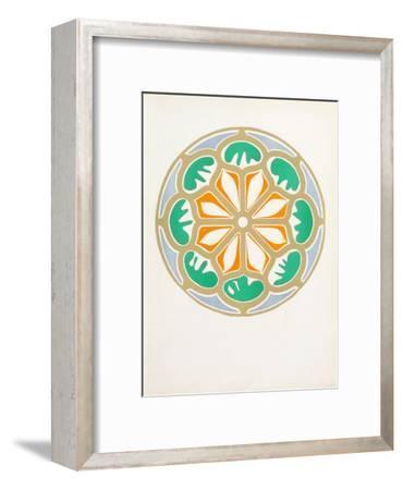 Verve - Rosace-Henri Matisse-Framed Collectable Print