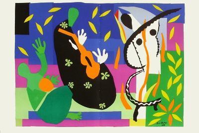 Verve - Tristesse Du Roi-Henri Matisse-Premium Edition