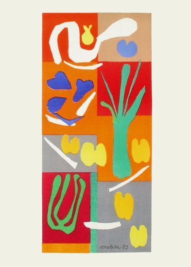 Verve - Vegetaux-Henri Matisse-Premium Edition