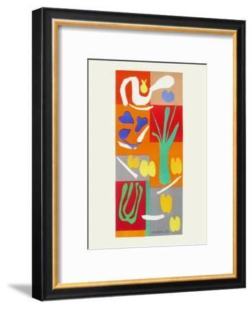 Verve - Vegetaux-Henri Matisse-Framed Premium Edition