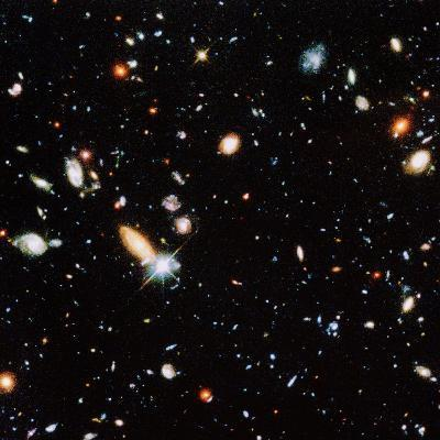 Very Distant Galaxies--Photographic Print