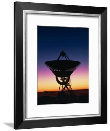Very Long Baseline Array Radio Telescope, Hawaii-David Nunuk-Framed Photographic Print