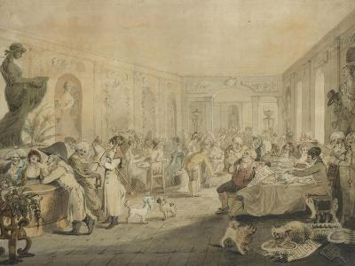 Very's Restaurant in the Palais Royal, Paris, 1803-John Nixon-Giclee Print