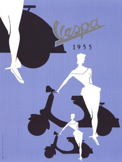 Vespa (1955)--Art Print