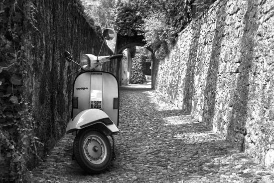 Vespa In Alley Amalfi, Italy--Photo