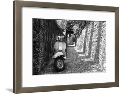 Vespa In Alley Amalfi, Italy