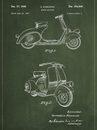 Vespa-Patent-Art Print
