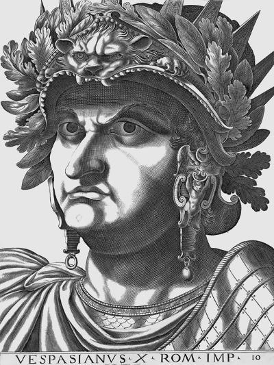 Vespasian, Emperor of Rome-Antonius-Giclee Print
