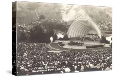 Vesper Service at Hollywood Bowl, Los Angeles, California