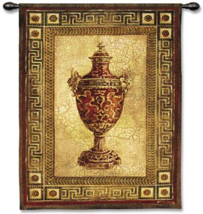 Vessel Antiquity I-Jill O'Flannery-Wall Tapestry