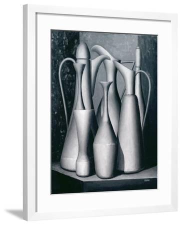 Vessel Assemblage Colour Activity-Brian Irving-Framed Giclee Print