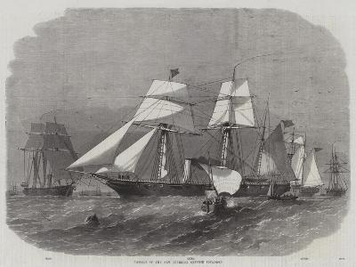 Vessels of the New Imperial Chinese Squadron-Edwin Weedon-Giclee Print