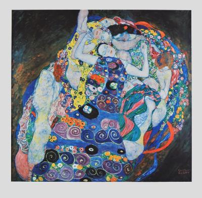 Vestal (hand-made paper)-Gustav Klimt-Collectable Print
