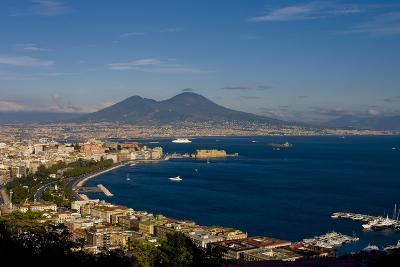 Vesuvius And Naples-Charles Bowman-Photographic Print