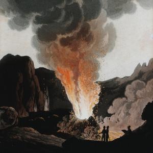 Vesuvius Erupting, Italy, C1815