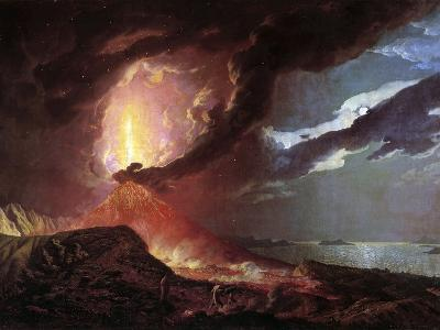 Vesuvius in Eruption, 1776 by Joseph Wright of Derby--Photographic Print