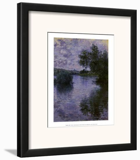 Vetheuil-Claude Monet-Framed Art Print