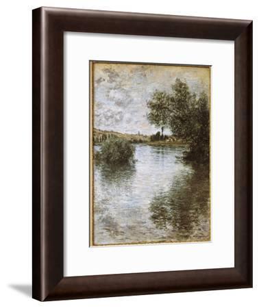 Vétheuil-Claude Monet-Framed Art Print