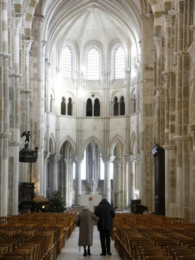 Vezelay Basilica, UNESCO World Heritage Site, Vezelay, Yonne, Burgundy, France, Europe-Godong-Photographic Print