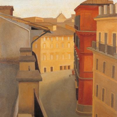 Via Del Lavatore-Antonio Donghi-Giclee Print