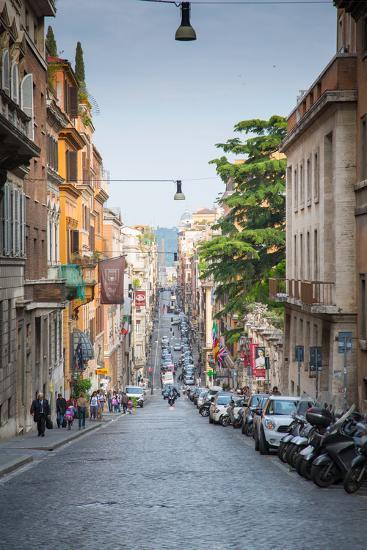 Via Sistina, Rome, Lazio, Latium, Italy, Europe-Frank Fell-Photographic Print