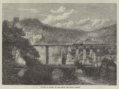 Viaduct at Brecon, on the Brecon and Neath Railway--Giclee Print