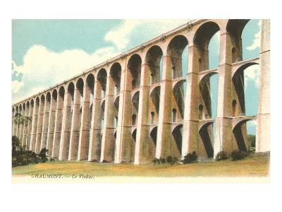 Viaduct in Chaumont, France--Art Print