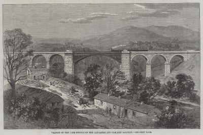 Viaduct on the Lime Branch of the Lancaster and Carlisle Railway-Richard Principal Leitch-Giclee Print