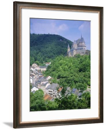 Vianden Castle, Vianden, Luxembourg-Gavin Hellier-Framed Photographic Print